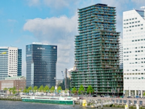 Solarwatt PV Powers Terraced Tower in Rotterdam, Netherlands