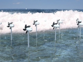 Turbines and Tetrapods Could Combine to Produce Electricity and Protect Shorelines