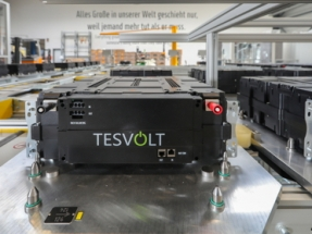 Production Line Starts in Europe's First Gigafactory For Energy Storage Systems