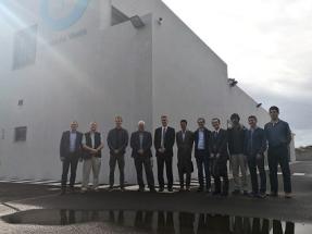 Miembros de la Agencia Internacional de la Energía visitan la Central Hidroeólica de El Hierro