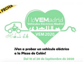 Otro evento que aplaza su celebración: la feria de movilidad eléctrica VEM2020