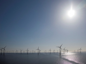 Open Ocean Wind Farms in North Atlantic Could Power the World
