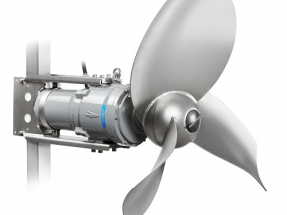 Redesigned Submersible Biogas Mixer Offers Greater Reliability and Performance