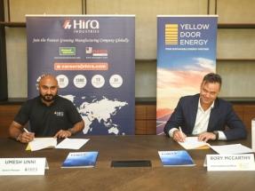 Hira Industries Selects Yellow Door Energy as Solar Partner