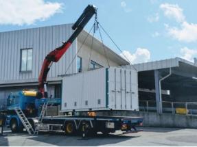 Innovative Battery Delivered to Portsmouth International Port