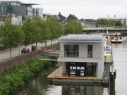 Floating passive house close to mass production