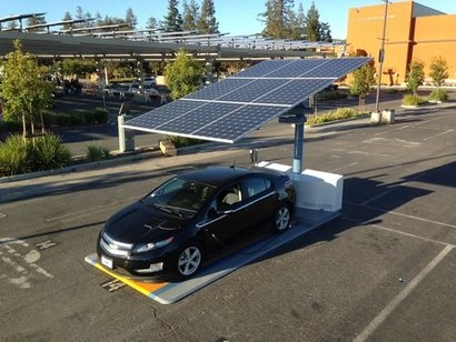 California parks department selects Envision Solar EV charging stations