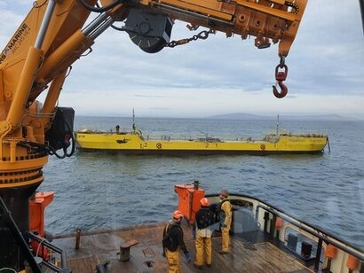 Magallanes reinstall ATIR tidal turbine at EMEC