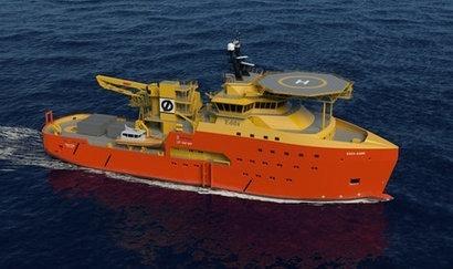 Østensjø Rederi orders second wind farm support vessel from Rolls Royce
