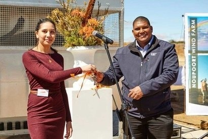 South African wind farm officially inaugurated by Mainstream Renewable Power