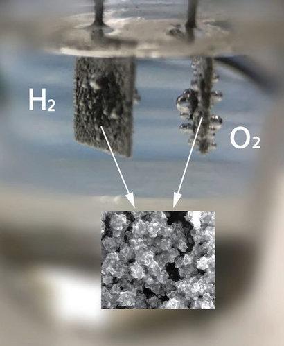 More efficient water splitting advances renewable energy conversion finds WSU scientists