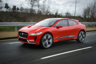 Jaguar unveils its first electric car concept – the Jaguar I-PACE