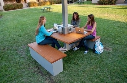 Carrier Class Green Infrastructure deploys ConnecTable solar-powered device charger