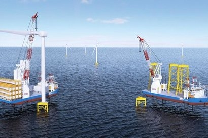 GustoMSC introduces new jack-up vessel for next generation wind turbines