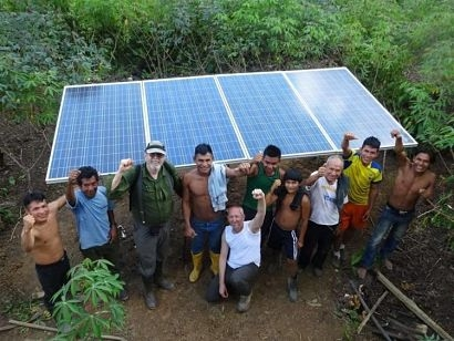 Amazon Watch and Empowered By Light help indigenous communities embrace clean energy