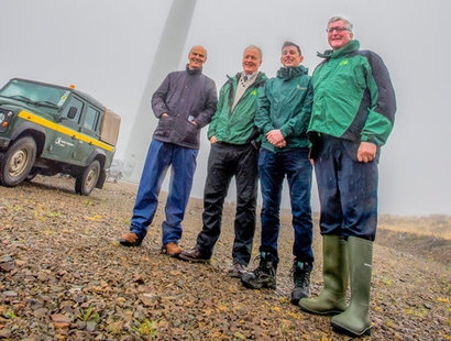 Scotland's national forest estate installs over 1 GW of renewable energy