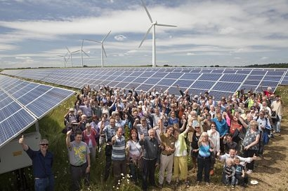British Solar Renewables to manage pioneering community-owned solar farm
