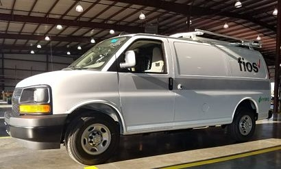 Verizon replaces conventional fuelled vans with hybrids