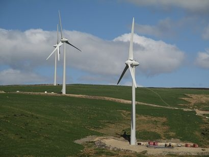 Mean Moor becomes the first wind farm in the UK to transfer to community ownership
