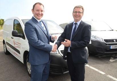 Peugeot Partner Electric vans join Swansea Council Fleet