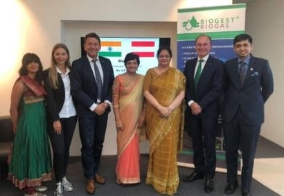 Biogest successfully enters the Asian market with an Indian biogas plant project