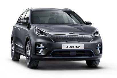Kia e-Niro provides driving range of up to 301 miles on a single charge