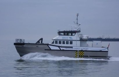 Seacat Services places multi-million pound order for Chartwell 24 offshore wind catamaran