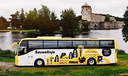Savonlinja and Neste launch a low-emission Green Travel service for bus passengers