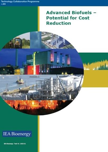 IEA Bioenergy publishes a new report on the potential for advanced biofuels cost reduction