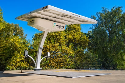 EV ARC units deployed by City of Greensboro, North Carolina