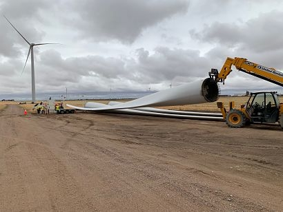 GE announces wind turbine blade recycling contract with Veolia