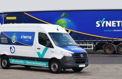 Synetiq marks World Environment Day by unveiling its latest EV delivery van