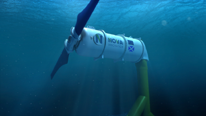 Nova Innovation to develop a tidal energy array in Nova Scotia