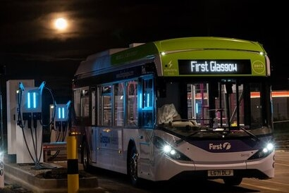 First Bus selected to operate electric buses as official COP26 delegate shuttle between city centre and blue/green zones