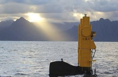 Azura wave energy device deployed at US Navy test site
