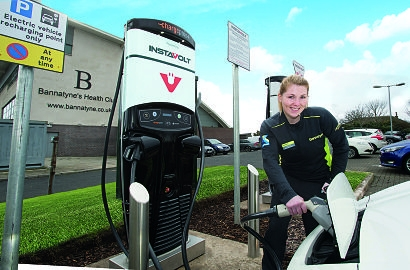 Bannatyne Health Clubs install InstaVolt rapid charging stations across the UK
