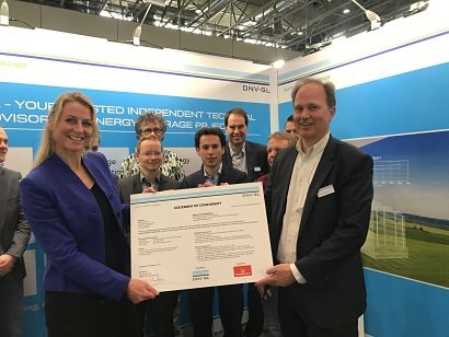 Bredenoord receives Gridstor test conformity statement from DNV GL