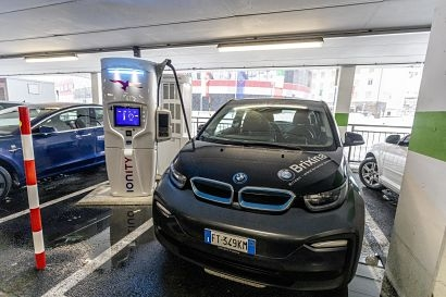 Ionity expands its pan-European network with a high-power charging station in Brenner