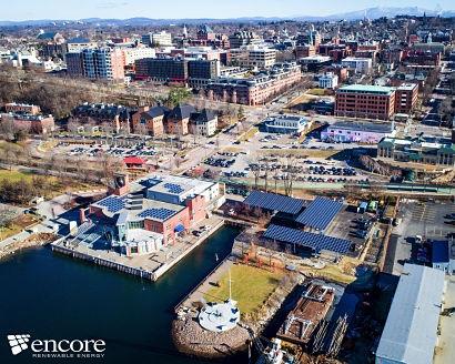 Vermont's largest solar parking lot deploys innovative panels on Burlington waterfront