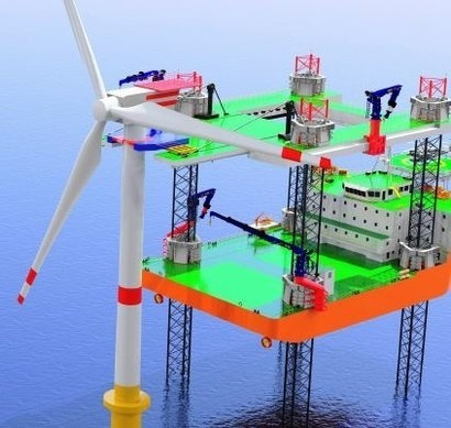 New Vessel Designs can be the Future of Offshore Wind Construction and Maintenance
