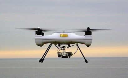 Researchers trialling new methods of measuring tidal currents with drones