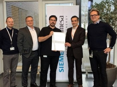 DNV GL awards Type Certificate to Siemens Gamesa