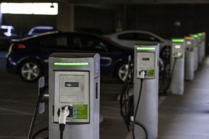 EV charging point network to go live in Manchester