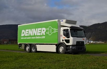 Electric mobility: A Renault Trucks D Wide Z.E. is fitted with solar panels