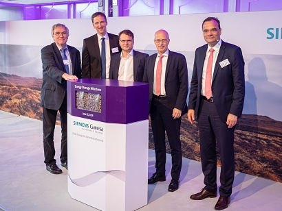 Siemens Gamesa inaugurates innovative electro thermal energy storage system