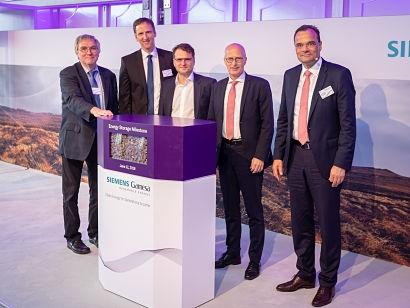 Siemens Gamesa inaugurates innovative electro thermal energy storage system