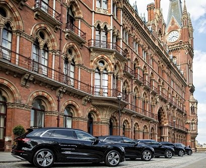 Pilot project introduces five Audi e-tron models to the Addison Lee Group fleet for six months