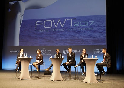 Floating Offshore Wind Turbine Event in Marseille