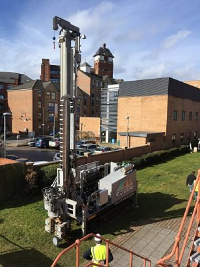 De Montfort University to demonstrate the next generation of geothermal heat pumps