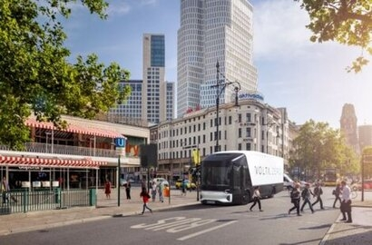 Volta Trucks confirms the German debut of the full-electric Volta Zero